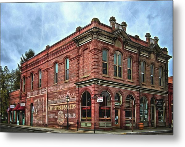 Boomtown Saloon Jacksonville Oregon Usa Metal Print