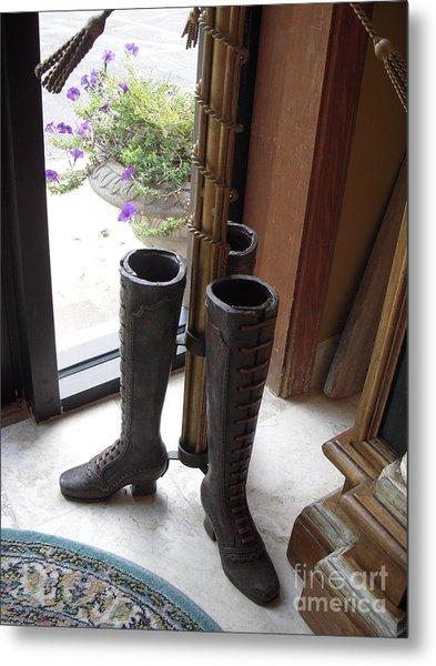 Boots Metal Print by Deborah Finley