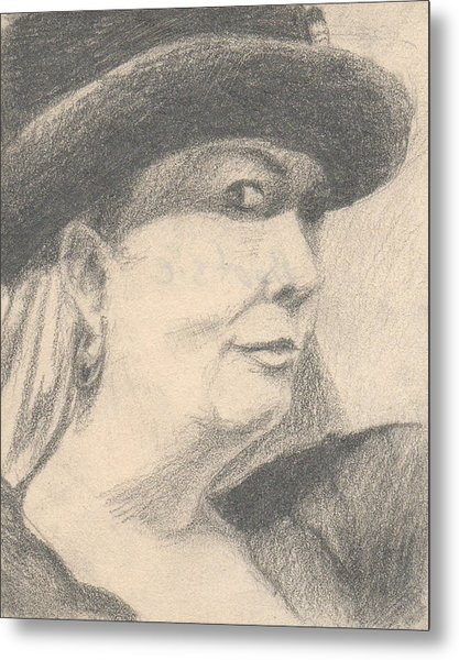 Bootsie Metal Print by T Ezell