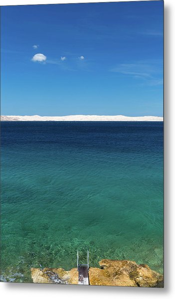 Bora In Velebit Kanal I Metal Print