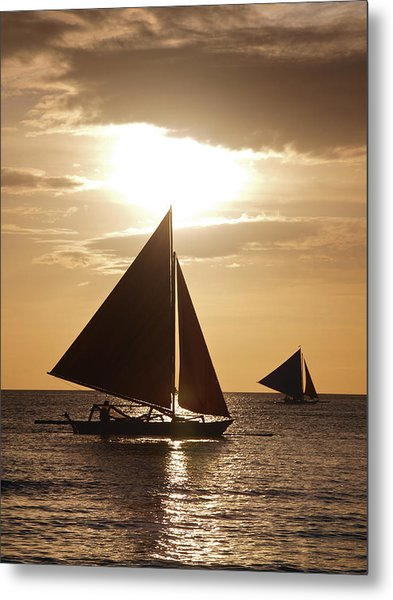 Boracay Philippines A 169 Metal Print by Per Lidvall