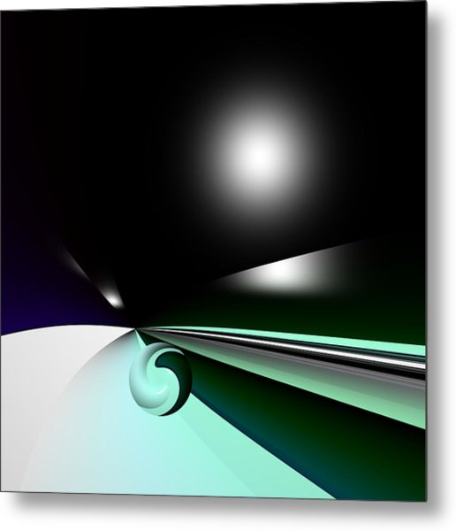 Borderling Metal Print
