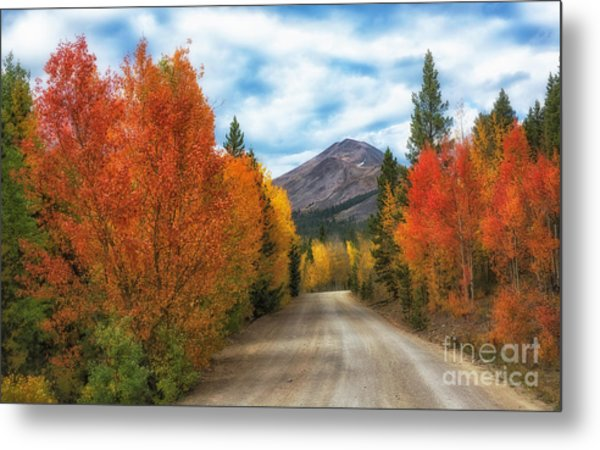 Boreas Mountain Metal Print
