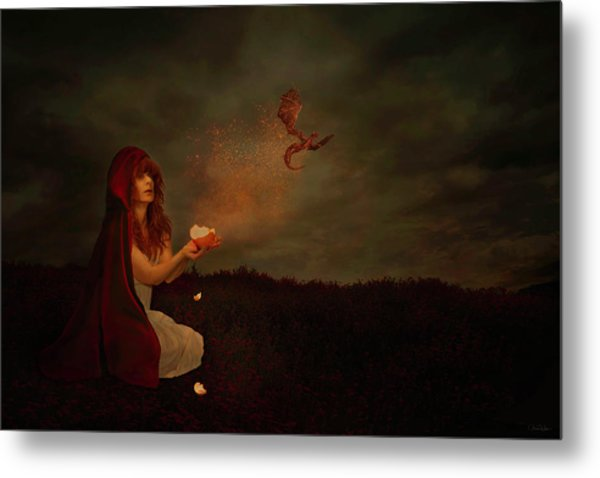 Born Of Magic Metal Print