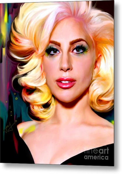 Born This Way, Lady Gaga Metal Print
