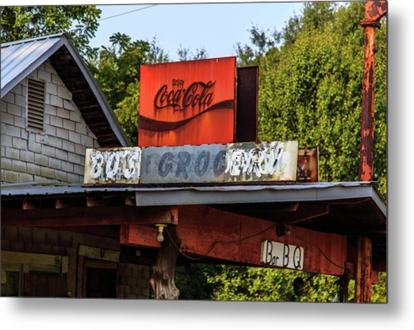 Metal Print featuring the photograph Bo's Grocery by Doug Camara