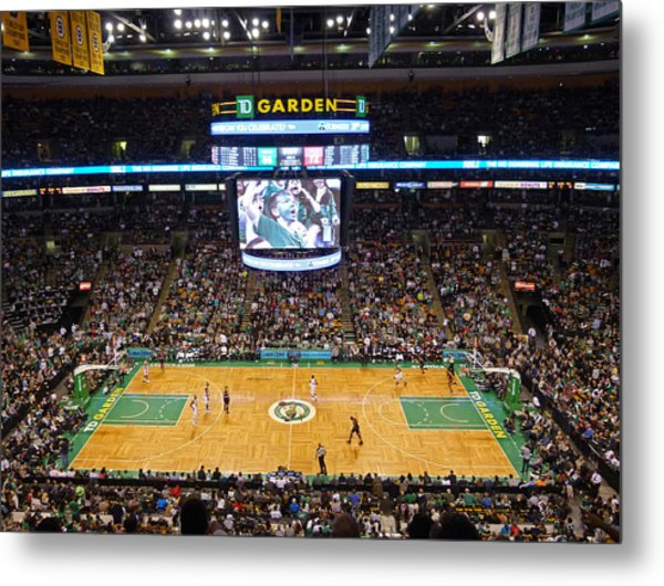 Boston Celtics Metal Print