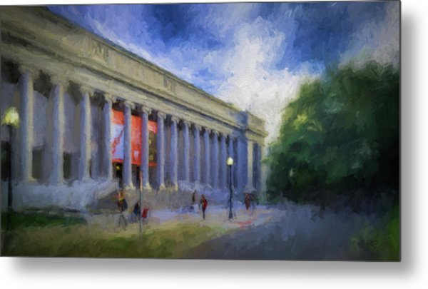 Boston Mfa On The Fenway Metal Print
