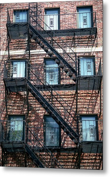 Boston Stairs Metal Print