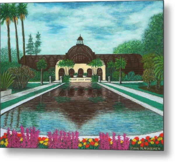 Botanical Building In Balboa Park 02 Metal Print