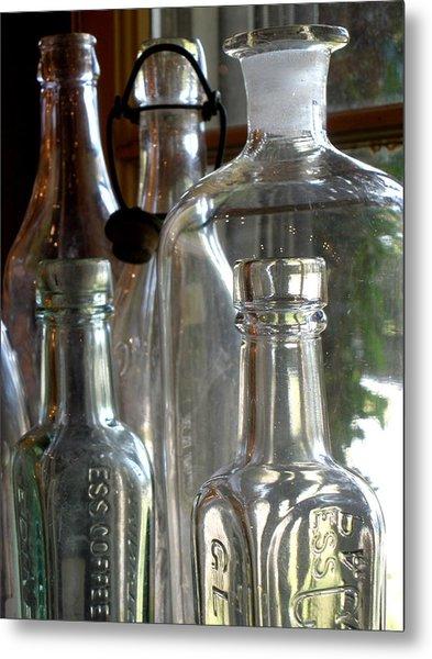 Bottle Necks Metal Print by Richard Mansfield