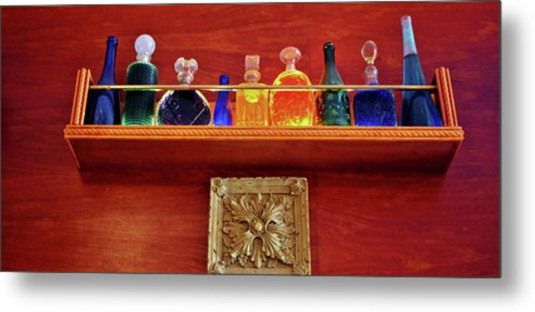 Bottle Styles Metal Print