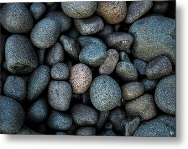 Boulder Beach Rocks Metal Print