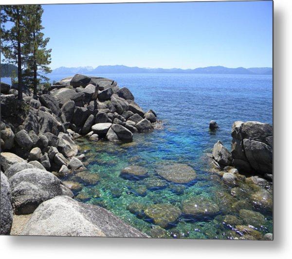 Boulder Cove On Lake Tahoe Metal Print