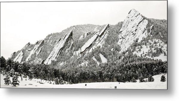 Boulder Flatirons Colorado 1 Metal Print