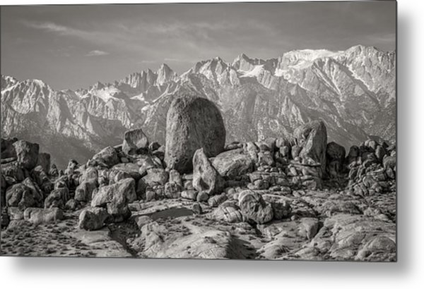 Boulders And Mountains - Sierra Nevada Metal Print by Joseph Smith