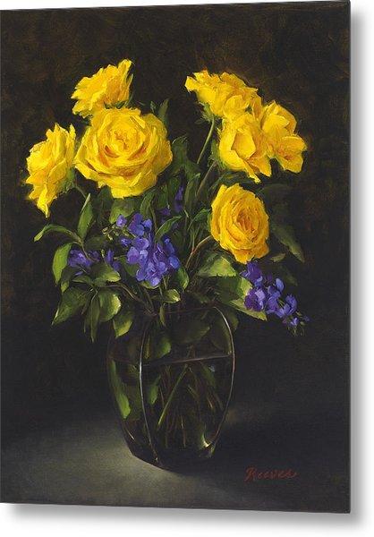 Bouquet Of Sunshine Metal Print