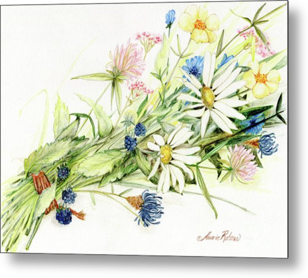 Bouquet Of Wildflowers Metal Print