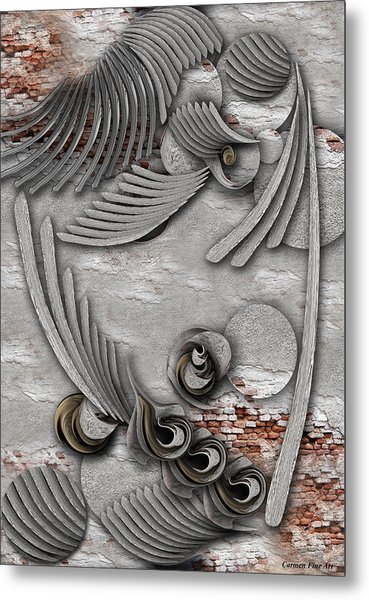 Bourgeoisie Creation Metal Print