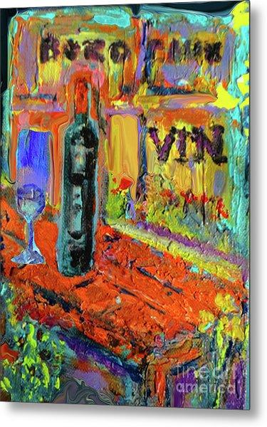 Boutique De Vins Francais 4 Metal Print