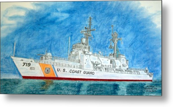 Boutwell-u.s.coast Guard 719 Metal Print