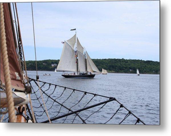 Bowditch Under Full Sail Metal Print