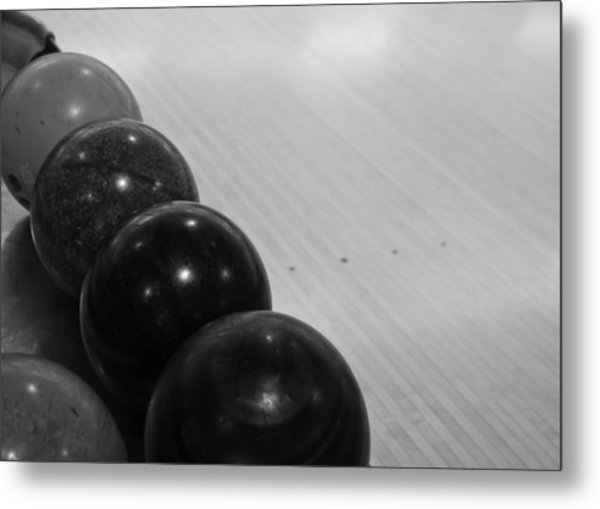 Bowling Metal Print by Edward Myers