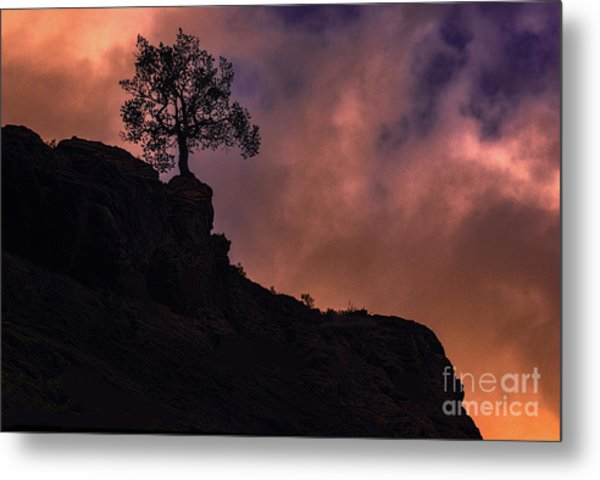 Box Canyon Sunset Metal Print