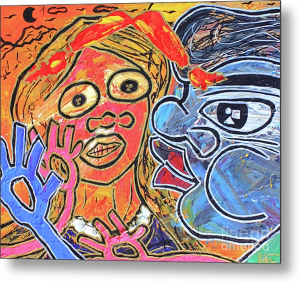 Boy Meets Girl Metal Print