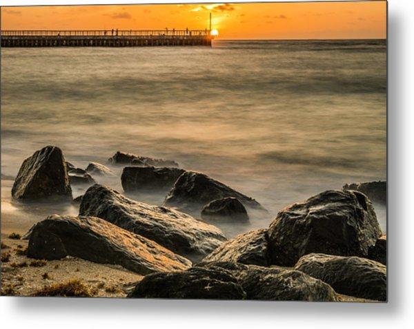 Metal Print featuring the photograph Boynton Beach Sunrise by Michael Sussman