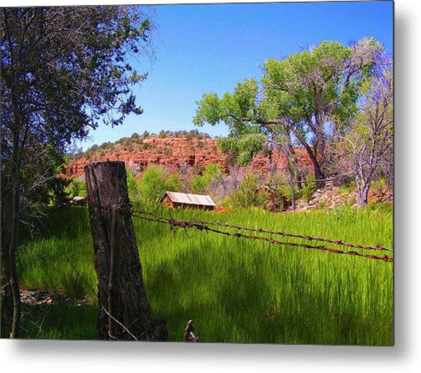 Boynton Canyon Arizona Metal Print by Jen White