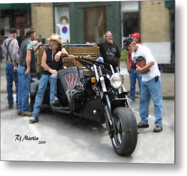 Boys And Their Toys Metal Print