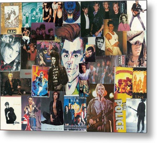 Boys Of Eighties Pop And Rock Metal Print