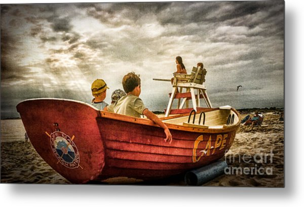 Boys Of Summer Cape May New Jersey Metal Print