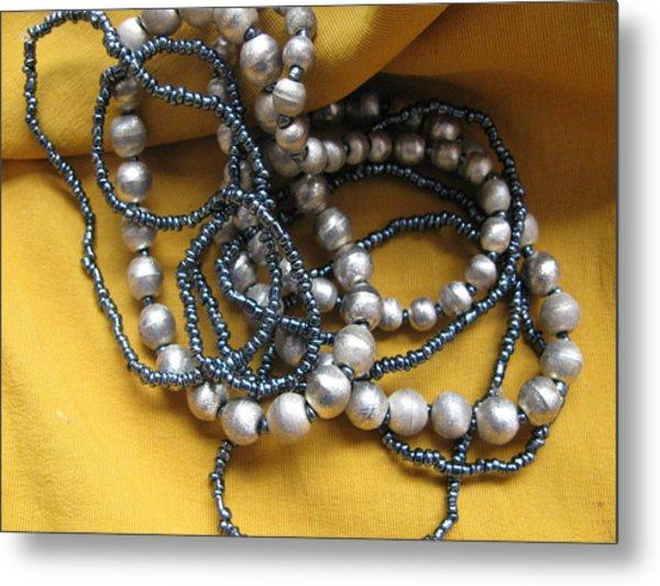 Bracelets Metal Print