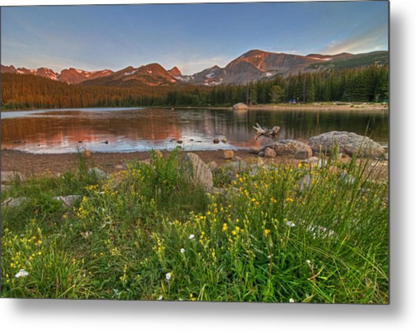 Brainard Lake Metal Print