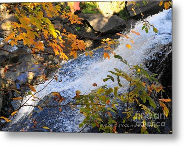 D30a-18 Brandywine Falls Photo Metal Print