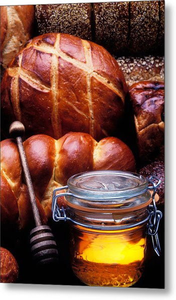 Bread And Honey Metal Print