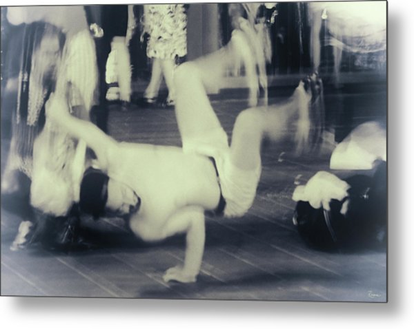 Metal Print featuring the photograph Break Dance by Rasma Bertz