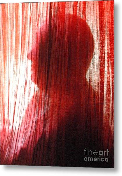 Break Through 04 - Other Side Profile Metal Print by Sean-Michael Gettys