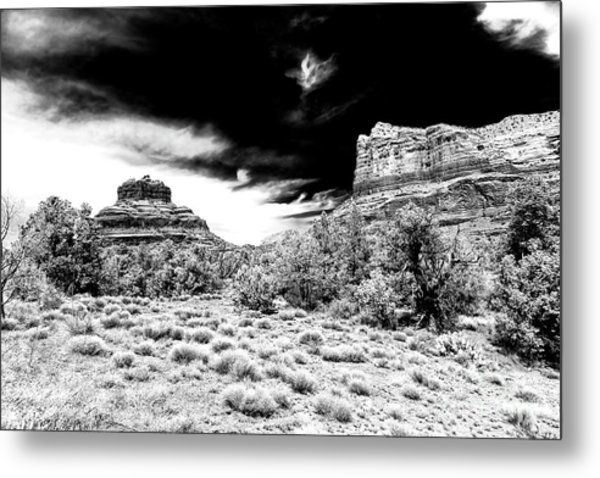 Breaking Bad In Sedona Metal Print