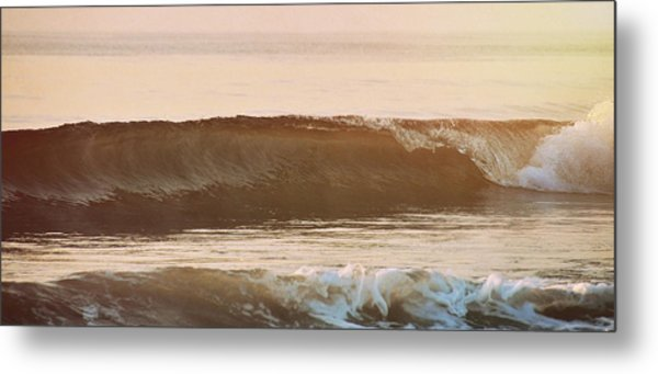 Breaking Wave Metal Print by JAMART Photography