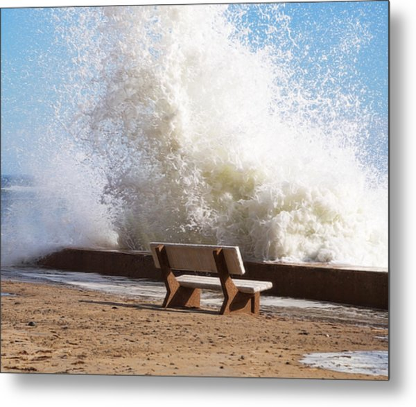 Breaking Wave Metal Print