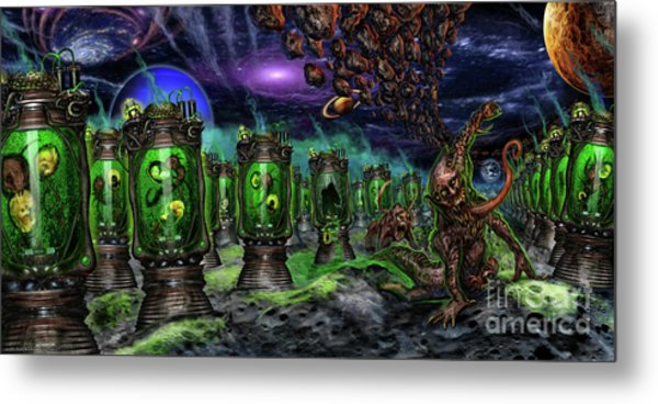 Breeding On Other Lands Metal Print