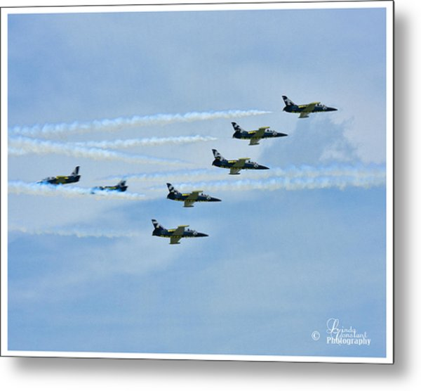 Metal Print featuring the photograph Breitling Air Show by Linda Constant