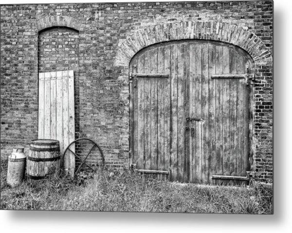 Brewhouse Door Metal Print