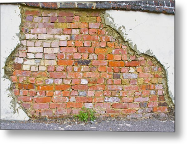 Brick And Mortar Metal Print