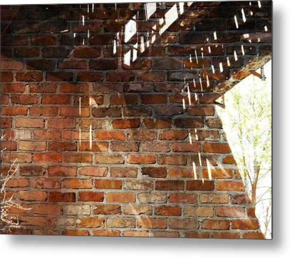 Brick And Rust Metal Print