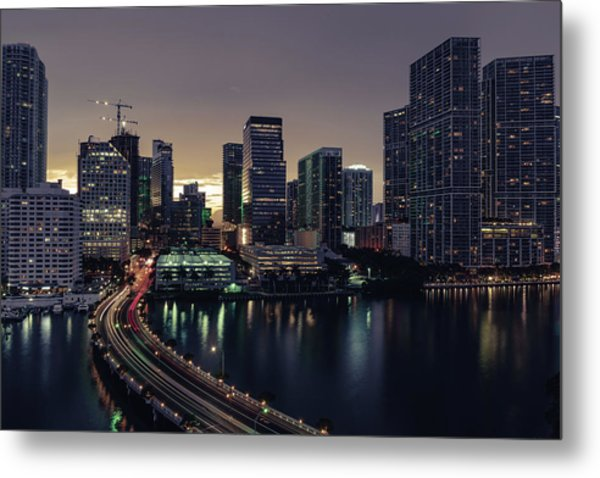 Brickell City Centre Metal Print