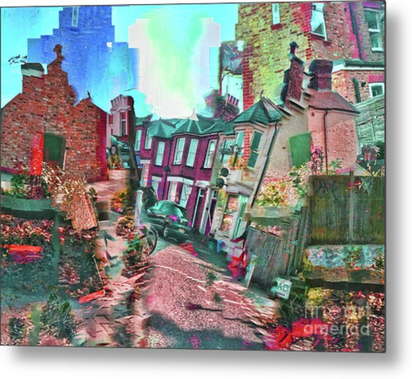 Bricks And Mortar Metal Print